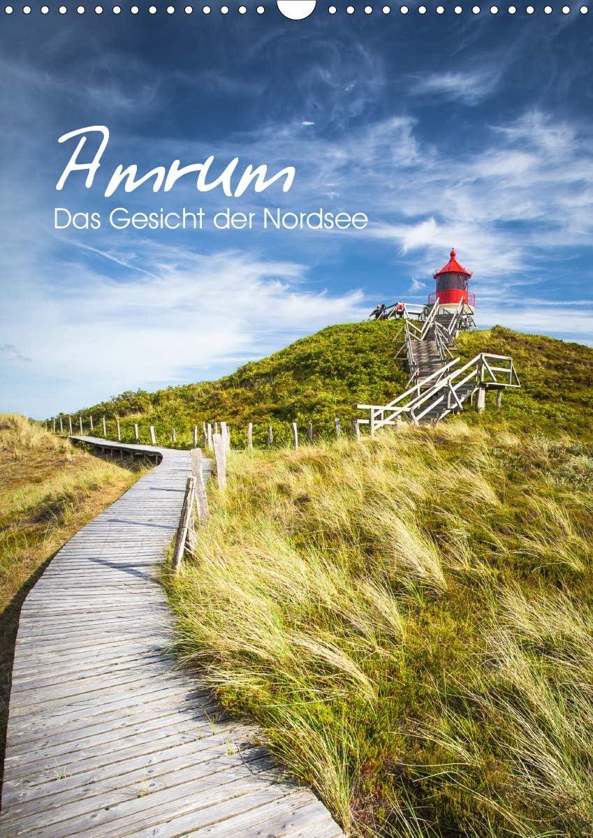 Amrum shipfree - Das Gesicht der Nordsee Wandkalender 2021 autumn and winter new A3 hoch 2021 DIN