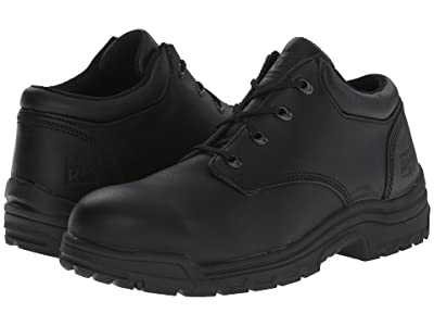 Timberland PRO TiTAN(r) Oxford Alloy Safety Toe Low (Black Smooth Full-Grain Leather) Men