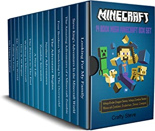 Minecraft: 14 Books In One: The Mega Minecraft Stories For Kids: Minecraft Wimpy Zombies, Minecraft Creeper, Minecraft the island, Minecraft Enderman, Minecraft Wimpy Ender Dragon
