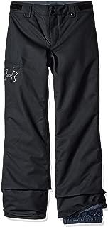 Under Armour Kids Girl's UA CGI Chutes Ins Pants (Big Kids) Black/Black/Glacier Gray LG (14-16 Big Kids)