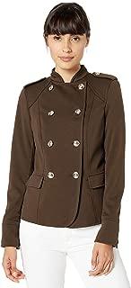 TOMMY HILFIGER Women's Ponte Military Jacket