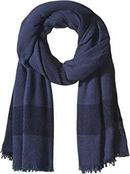 Tory Burch - Solid Cashmere Logo Scarf