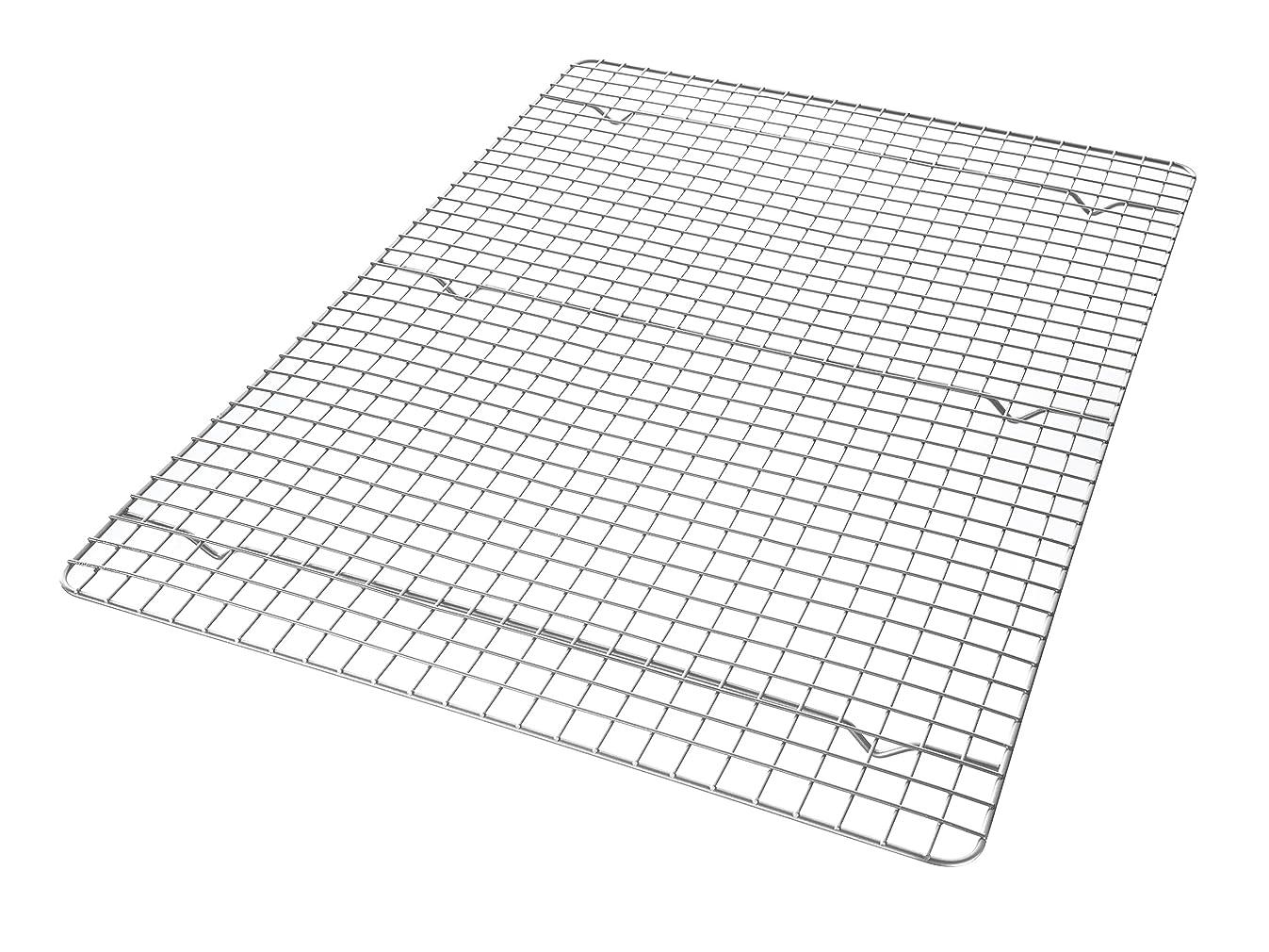 USA Pan 1603CR X-Large Bakeable Nonstick Cooling Rack, XL Sheet, Metal