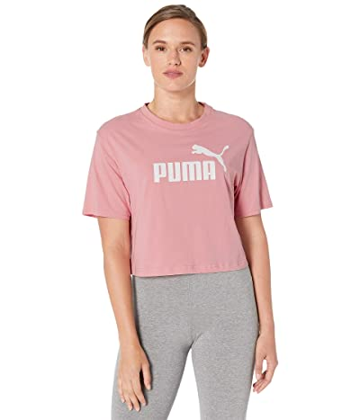 PUMA Amplified Cropped Tee (Bridal Rose) Women