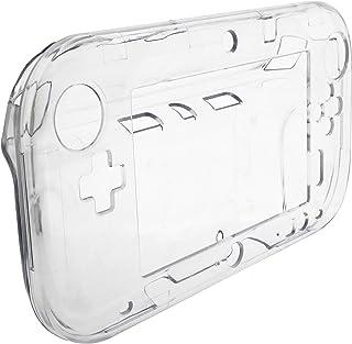 OSTENT Capa protetora transparente rígida de cristal compatível com Nintendo Wii U Gamepad
