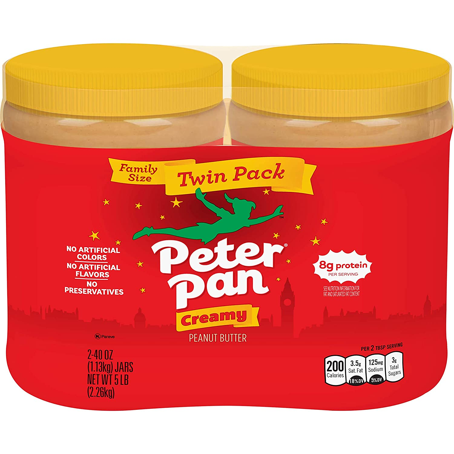 Peter Pan Peanut Butter Ounce Pack Twin Inventory cleanup selling sale 80 Recommended