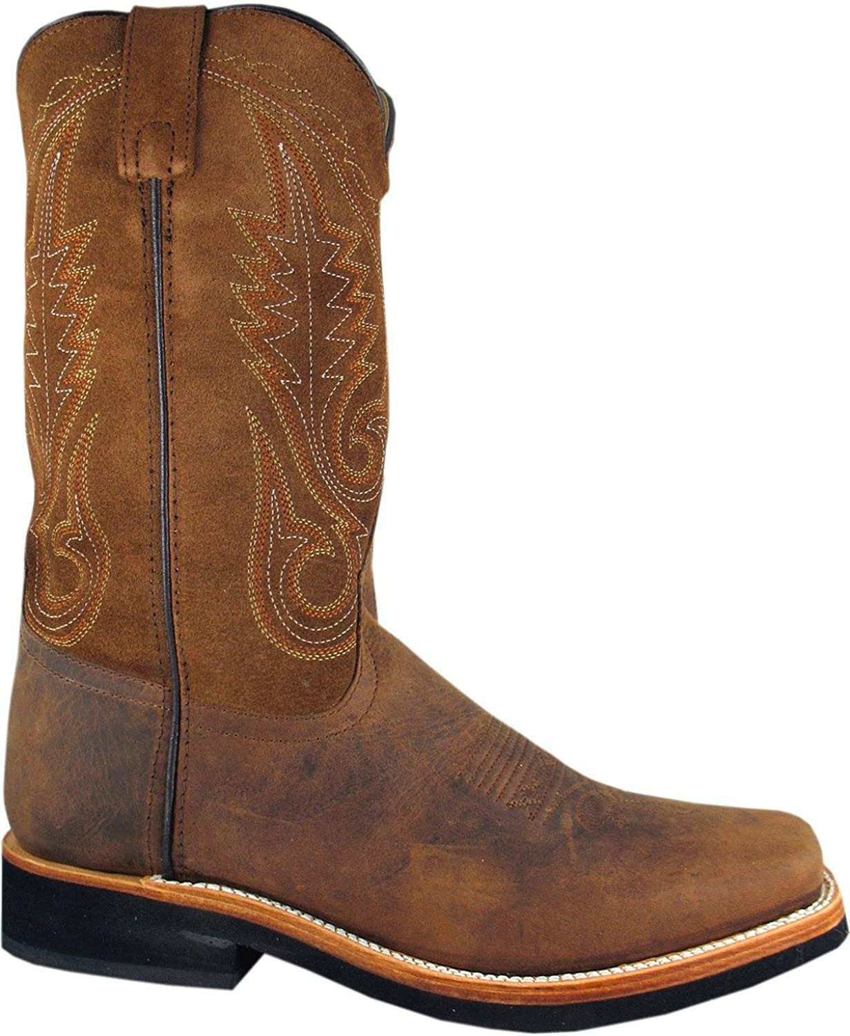 Smoky Mountain Men's Boonville Cowboy Boot Square Toe - 4028
