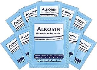 ALKORIN 10 Sachets - dem nächsten Tag zuliebe. Unterstützt die Leberfunktion mit Cholin. Multivitamin Basenpulver mit Magnesium, Zink, Folsäure, Elektrolyten, Vitamin B1  B2  B3  B5  B6  B12