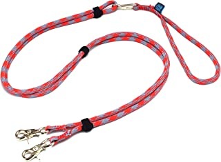 ドッグ・ギア ザイルリードタイプW ロープ径8mm 全長180cm レッド 「大切な愛犬を迷子犬にしないためのリードです」