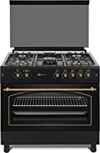 Cocina SolThermic F9L50G2-N PANORÁMICA de color Color Negro