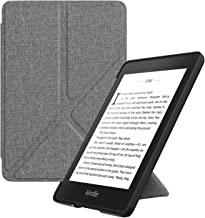 MoKo Case Replacement with Kindle Paperwhite (10th Generation, 2018 Releases), Standing Origami Slim Shell Cover with Auto Wake/Sleep for Amazon Kindle Paperwhite 2018 E-Reader - Gray