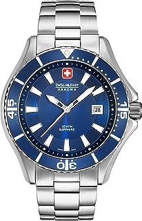 Swiss Military Hanowa - Reloj Analógico para Hombre de Cuarzo con Correa en Acero Inoxidable 06-5296.04.003