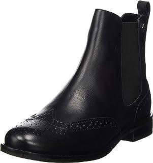 Superdry Women's Millie Brogue Chelsea Boot Ankle, Black (Black 02a)