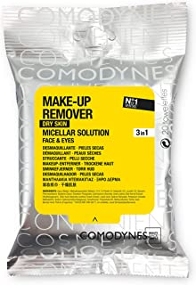 Comodynes Makeup Removers Toweletts for Face and Eyes with Oats for Dry Skin. 3 -