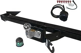 Umbra Rimorchi Fixed Swan Neck Towbar with 13 pin C2 Wiring Kit for Hyundai iX35 SUV 2-4WD 2010 On UT191COR11ZHFM//WU403UK1