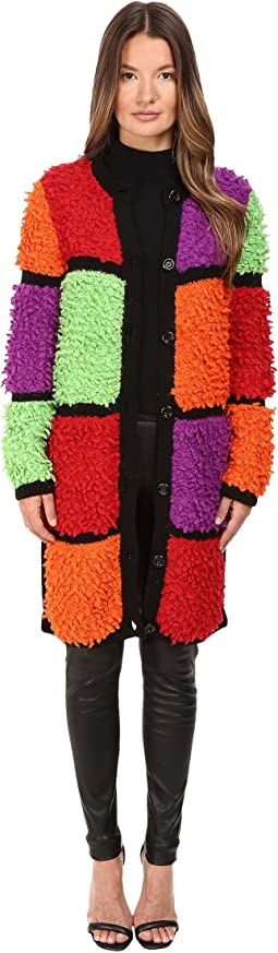 Multicolor Mod Cardigan