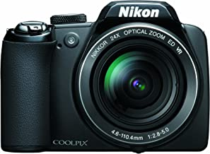 Nikon Coolpix P90 12.1MP Digital Camera with 24x Wide Angle Optical Vibration Reduction (VR) Zoom and 3 inch Tilt LCD