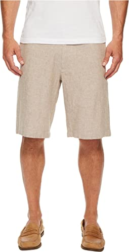 Perry Ellis Linen Drawstring Shorts