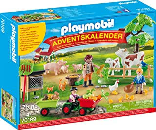 Playmobil 70189 Advent Calendar Toy Role Play Multi-Coloured One Size