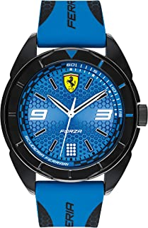 Scuderia Ferrari MEN'S BLUE DIAL BLUE SILICONE WATCH - 830518