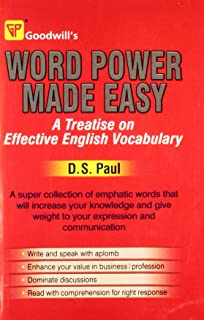 Word Power Made Easy: A Treatise on Effective English Vocabulary