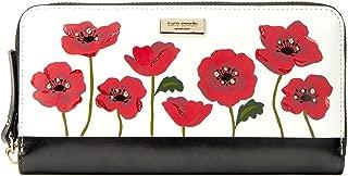 Kate Spade Women's Ooh La La Poppy Neda Leather Wallet