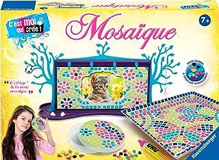 Ravensburger - Coffret Maxi Mosaïque - Thème Aniamux - Loisir créatif - Kit d'activités enfants - A partir de 7 ans - incl...