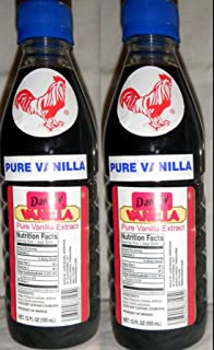 2 X Danncy Dark Pure Mexican Vanilla Extract From Mexico 12oz Each 2 Plastic Bottle Lot Sealed by Danncy