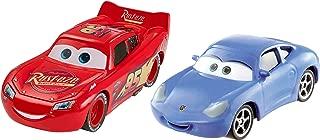 Disney Pixar Cars 3: Lightning McQueen & Sally Die-cast Vehicle 2-Pack