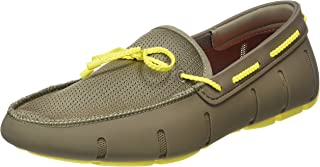 SWIMS Mens Braided Lace Loafers