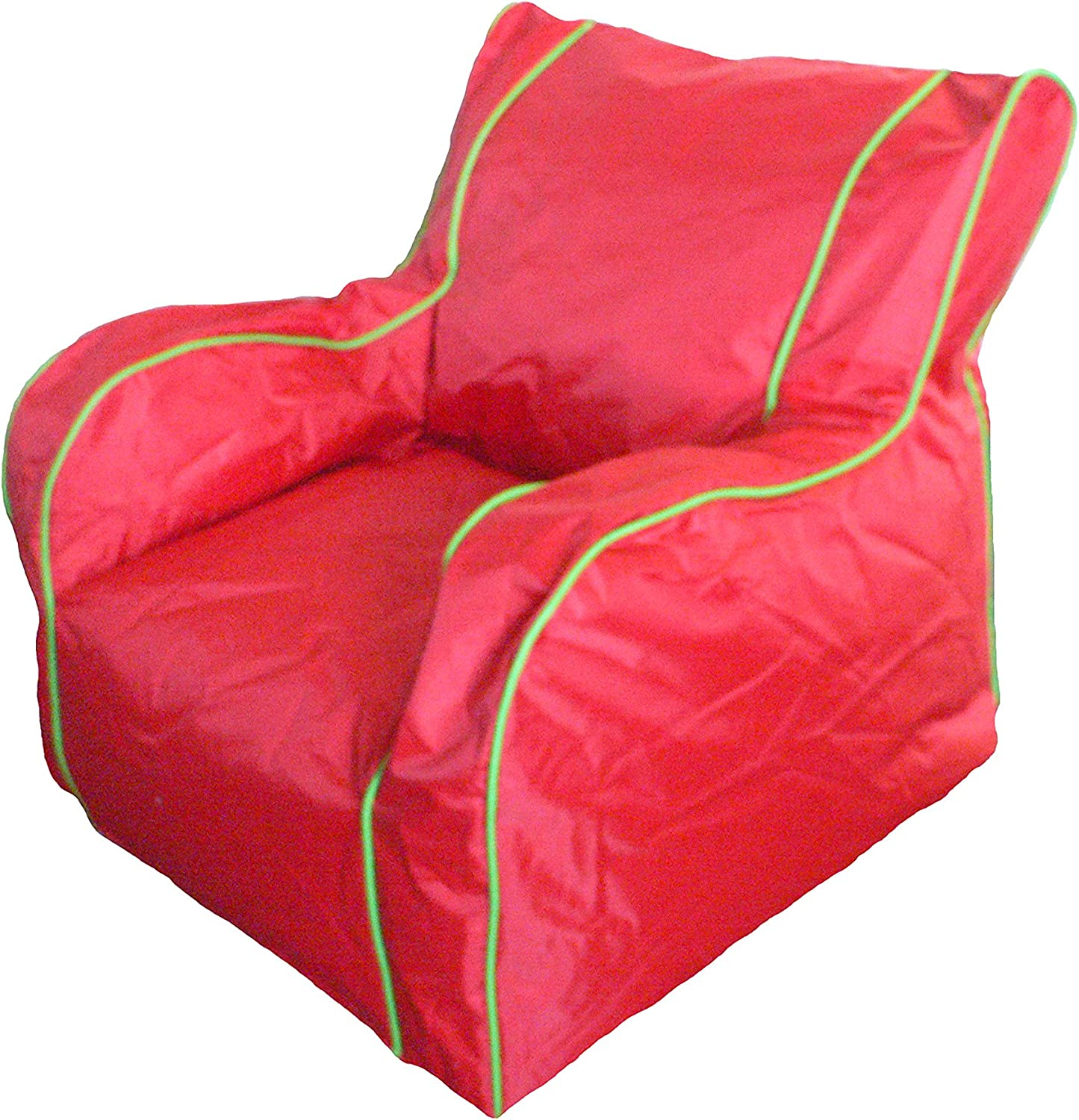Boscoman - Cody Large Lounger Beanbag Chair - Fiery Red (BOX L)