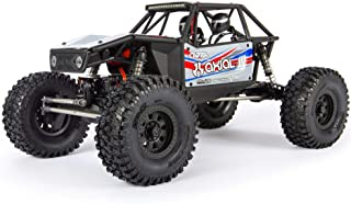Axial Capra 1.9 Unlimited 4WD RC Rock Crawler Trail Buggy Unassembled Chassis Builder's Kit (Radio, Battery, Charger, Electronics Sold Separately): 1/10 Scale, AXI03004, Black