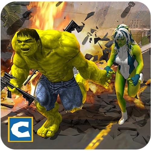 Monster Hero Battle for Love