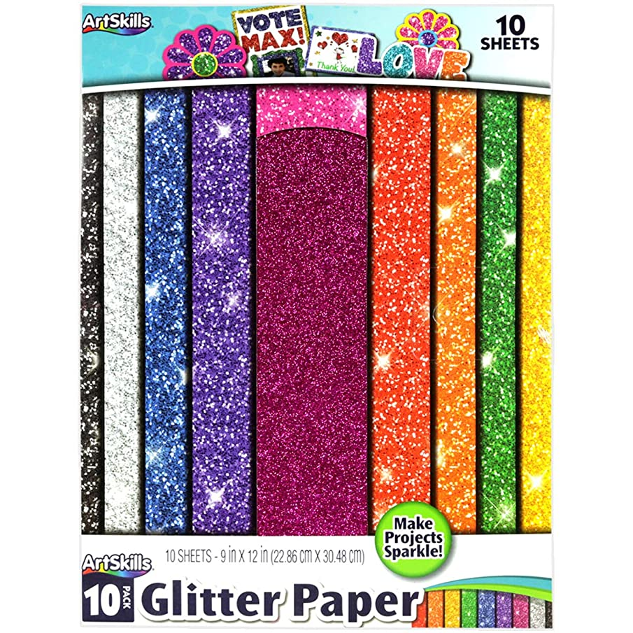 ArtSkills PA-2575 PA2575 Glitter Paper 9