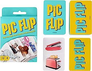 Mattel Games GKD70 - Pic Flip-kortspel för Barn som är 7 år och äldre