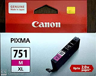 Canon Inkjet Cartridges CLI-751M XL,Magenta