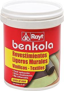 comprar comparacion Rayt 1759-09 Benkola revestimientos ligeros: Adhesivo para papel pintado con dorso de tela sin tejer. Permite correción du...
