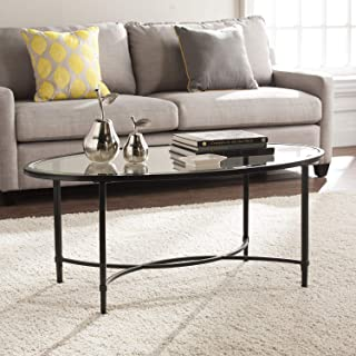 Best oval gloss coffee table black Reviews