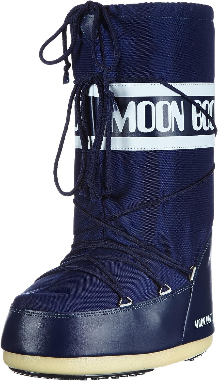 Moon Stiefel Nylon Blau Unisex 23-26 EU Schneestiefel