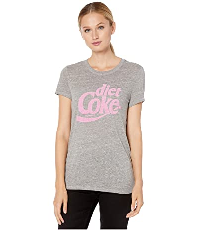 Lucky Brand Diet Coke Tee (Heather Grey) Women