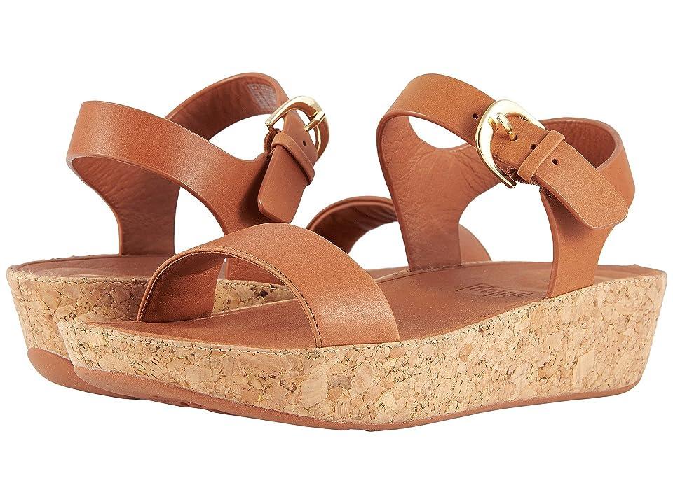 FitFlop Bon II Back Strap Sandals (Caramel) Women