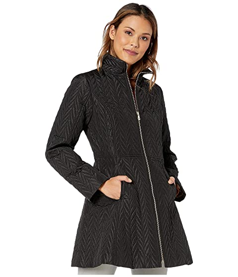 Kate Spade New York Quilted Long Jacket
