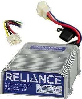 Reliance 36V or 48V to 12V Golf Cart Voltage Reducer (DC Converter) - 30 Amp