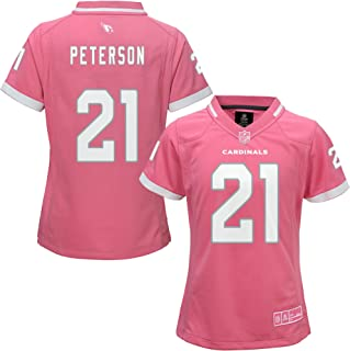 Patrick Peterson Arizona Cardinals #21 Bubble Gum Pink NFL Youth Girls Jersey