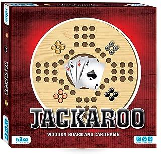لعبة جاكارو بلوح خشبي وبطاقات من نيلكو