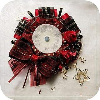 pump-kawayi 部分现货原创古典风黑红玫瑰徽章托吧唧托痛包用饰品