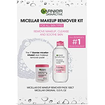 Garnier SkinActive Micellar Makeup Remover Kit for All Skin Types