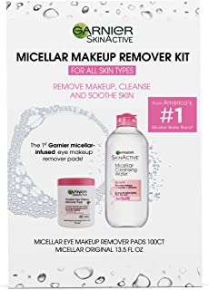 garnier pure active makeup remover