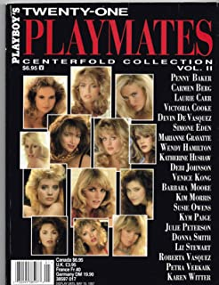 Playboy's Playmates Centerfold Collection Twenty-One Volume IIListed for charity