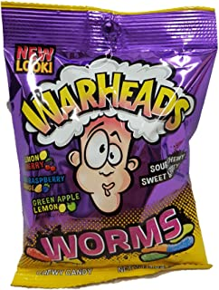 Warheads Worms 142g American US Candy